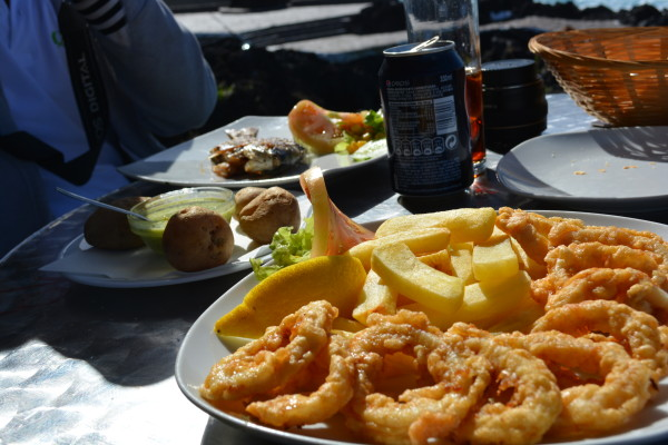 calamares at caleton garachico