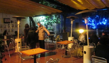 Terraza del antic cafe