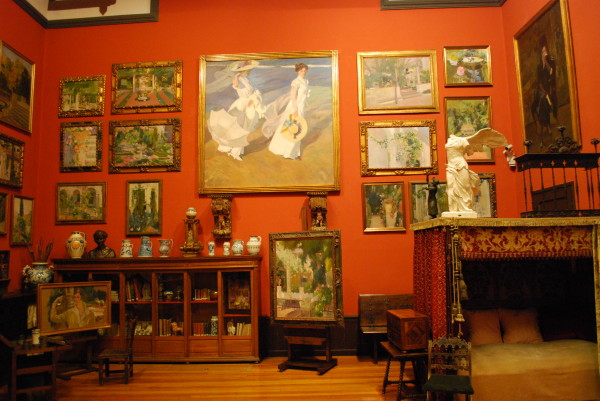 Inside the Museo Sorolla, Madrid