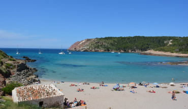 Menorca beaches Algaiarens