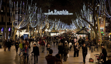 Barcelona in Christmas