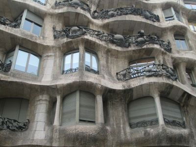 La Pedrera on the Paseo de Gracia, Barcelona