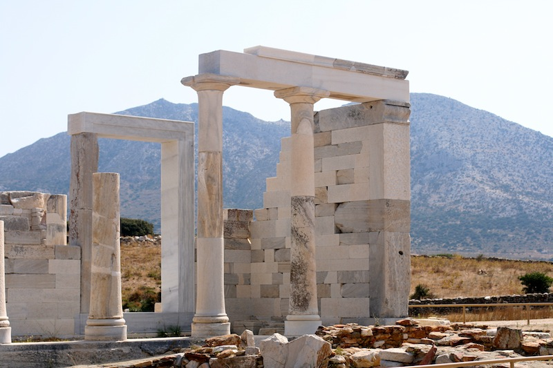 Temple of Demeter Naxos