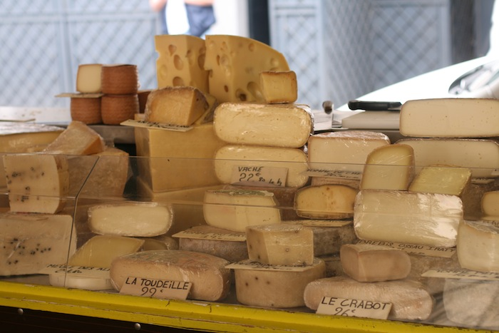 Antibes Provenzal Market cheese
