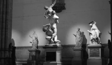 Loggia dei Lanzi Florence - The Rape of the Sabine Women