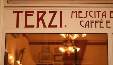 Caffe Terzi Bologna sign shop